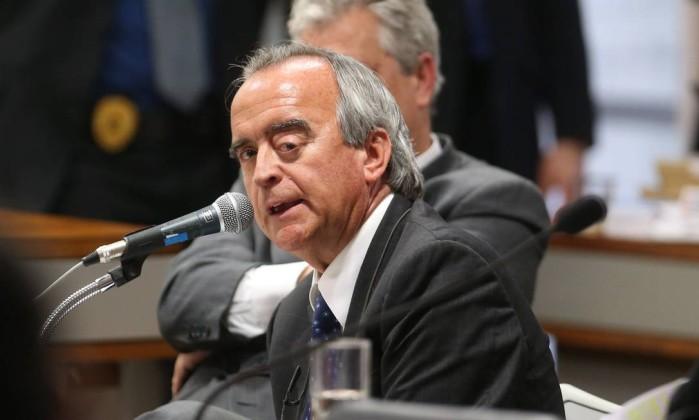 Nestor Cerveró, ex-diretor da área internacional da Petrobras - André Coelho / Agência O Globo