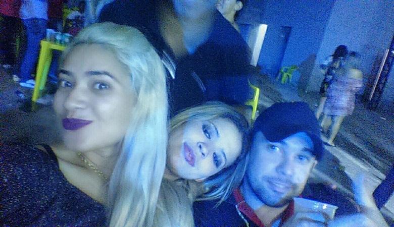 Alaine,Bruna e Guilherme