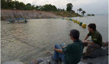 Enchimento-do-vertedouro-de-Belo-Monte