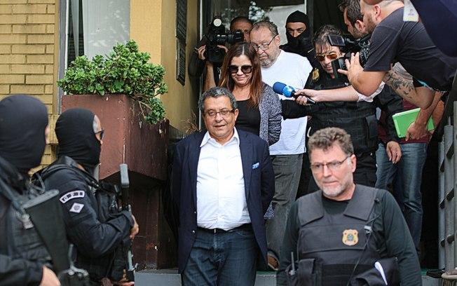 O marqueteiro João Santana, a mulher dele e o operador de propinas estão presos em Curitiba GISELE PIMENTA/FRAMEPHOTO/ESTADÃO CONTEÚDO