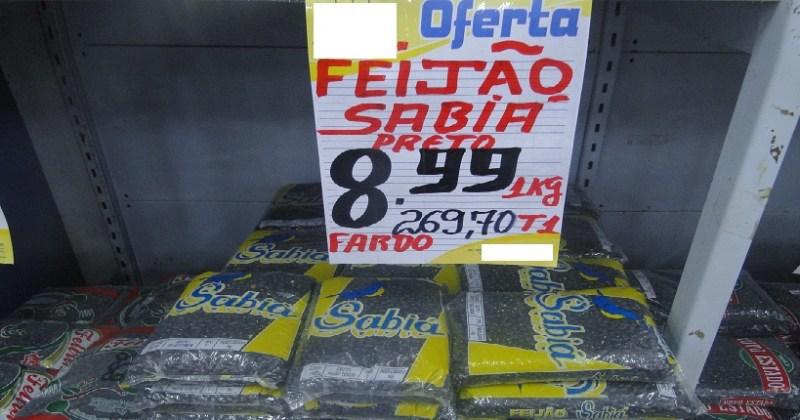 Feijão Preto (Foto Jailton Rosa Jornal Folha do Progresso)