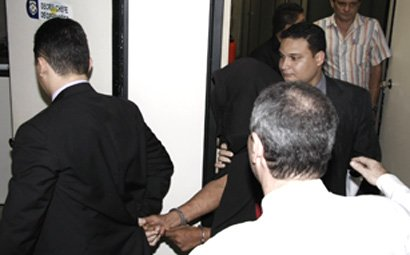 O delegado se entregou à Polícia após o assassinato. Imagem: Elcimar Neves