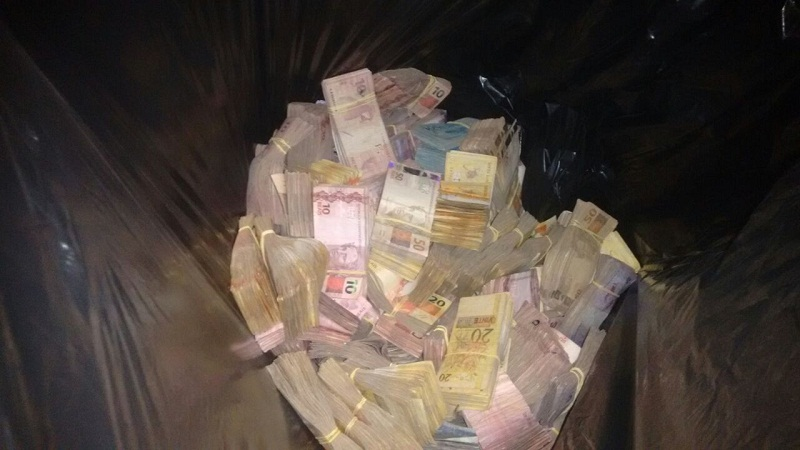 Sacos de dinheiro