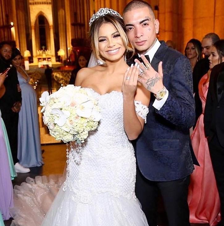 Guimê e Lexa se casaram na noite de terça-feira (22/5), em São PauloReprodução/Instagram