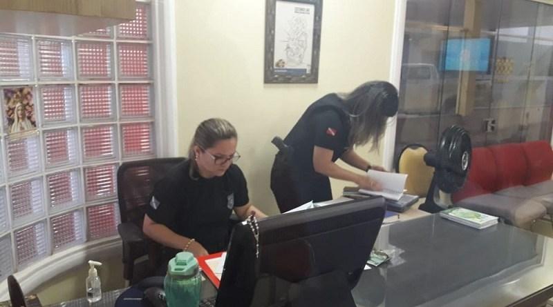 Polícia e MP-PA cumprem mandados de prisão, busca e apreensão na 9ª fase da 'Perfuga' (Foto:G1 TV Tapajós)