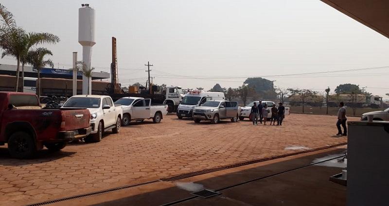 Equipe saiu para o resgate das vitimas(Foto:Ricardo Forestti)