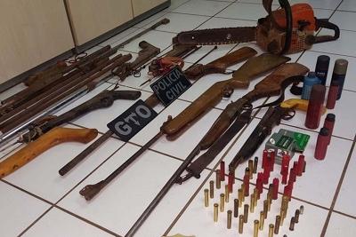 Materiais foram encontrados na casa do acusado Materiais foram encontrados na casa do acusado (Ascom Polícia Civil)