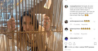 """Rosângela Moro publica foto no Instagram sobre """"sensação de estar presa"""""""
