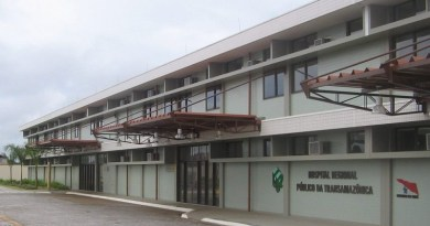 hospital regional transamazonica