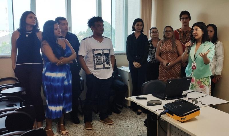 Equipe que irá atuar na Câmara em Santarém — Foto: Ascom MPPA/Divulgação
