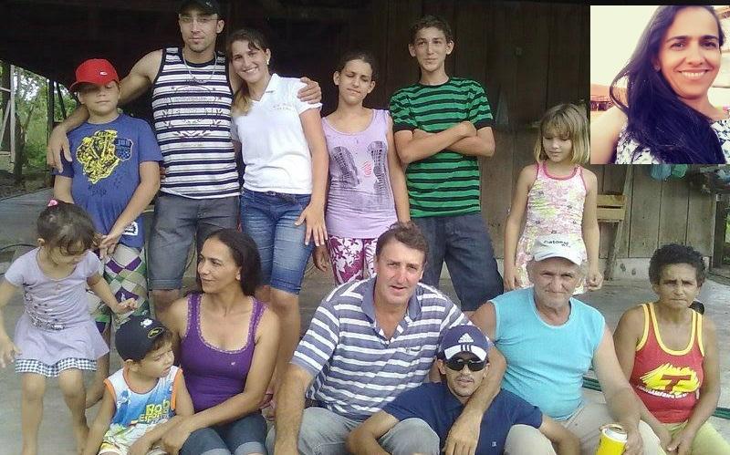 Diana deixa o marido e oito filhos.(Foto:Facebook)