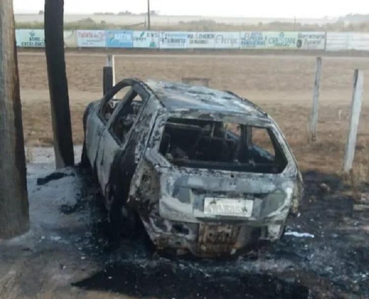 Ex-namorado matou professora queimada dentro de carro em parque de exposição em Santa Carmem — Foto: Divulgação