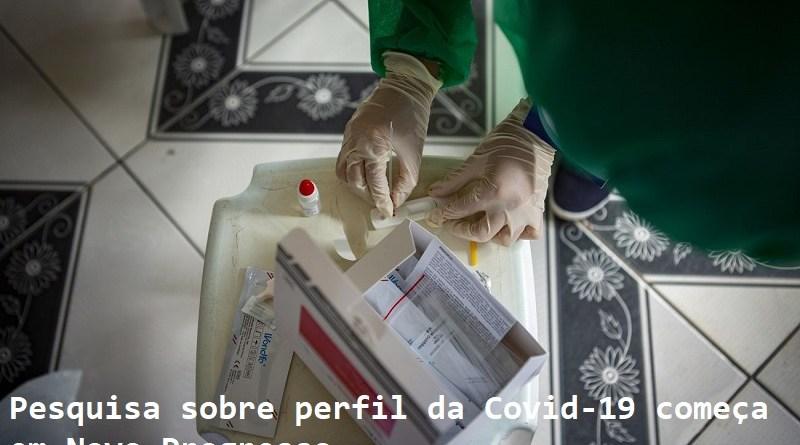 A aluna de enfermagem checa o teste rápido de coronavírus,  no bairro da Terra Firme, durante Pesquisa Epidemiológica da Covid 19, realizada pela Uepa e Sespa, em Belém e Ananindeua.  FOTO: NAILANA THIELY/ ASCOM UEPA DATA: 30.06.2020 BELÉM-PARÁ