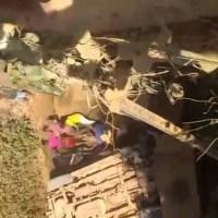 Motorista da Mineradora Gana Gold cai de ponte na Transamazônica, deixa um morto e dois feridos