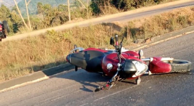 Motocicleta (Foto:WhatsApp)