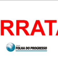 ERRATA- Jornal Folha do Progresso