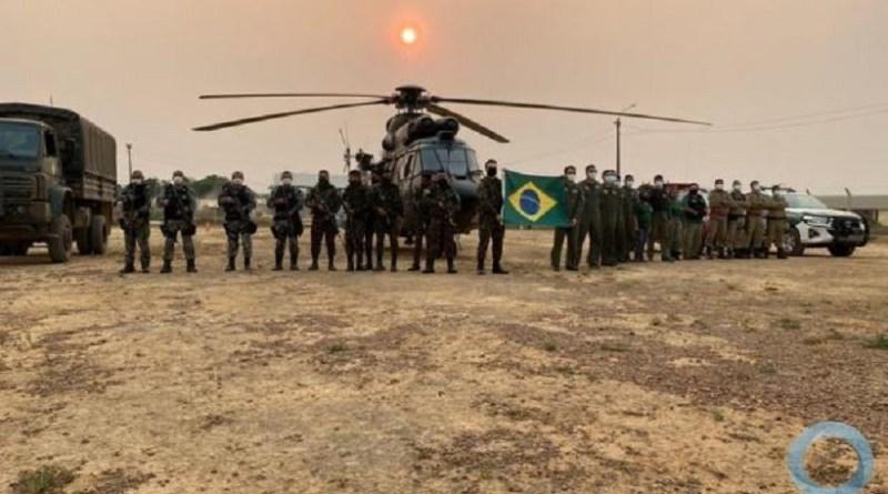 Operação Verde Brasil 2 – Base de Operações, Tapajós, foi montada em Novo Progresso