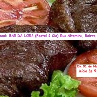 Convite de Aniversário - Churrasco 0800 no Bar da Lora em Novo Progresso