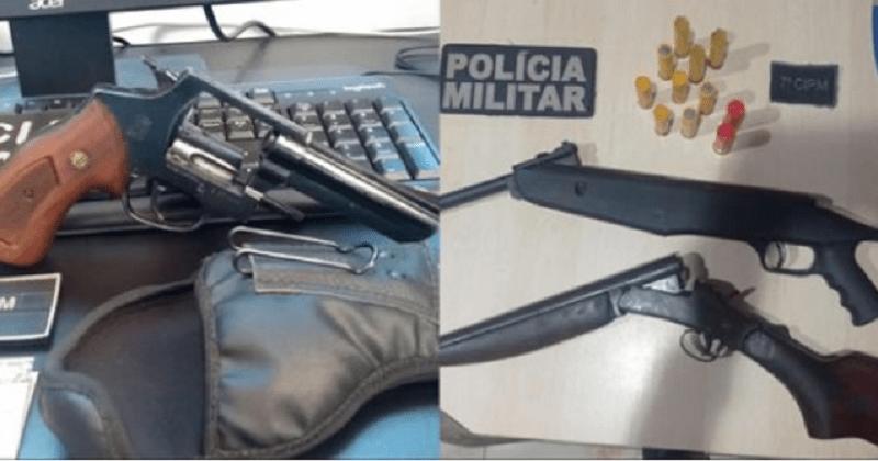 porte ilegal e arma de fogo