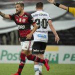 Flamengo joga bem, vence a 1ª sob comando de Ceni e dorme na liderança do Brasileirão