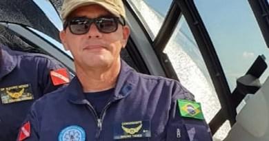 Coronel Mauro Tadeu morreu em acidente de avião — Foto: Divulgação