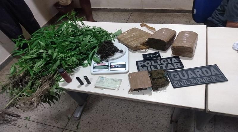Material apreendido em Moju — Foto: Ascom/PM