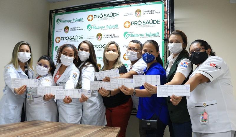 Profissionais de saúde vacinados- HMIB