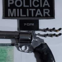 Dois homens são presos em flagrante por porte ilegal de arma de fogo em Novo Progresso