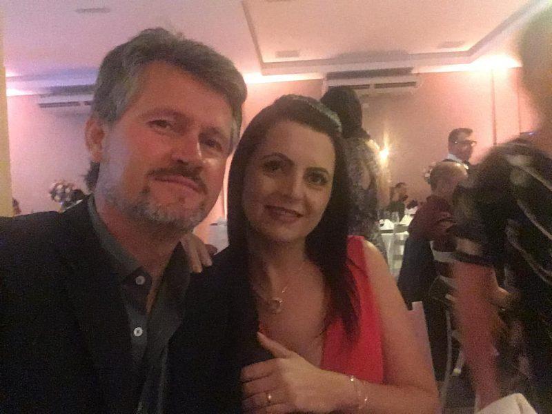 Anderson e Sandra voltavam de um passeio a Campo Alegre quando o acidente aconteceu – Foto: Redes sociais/ND