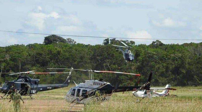 Helicopteros na operação