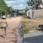 Moradores reclamam de intenso desperdício de água por conta de vazamento em Novo Progresso