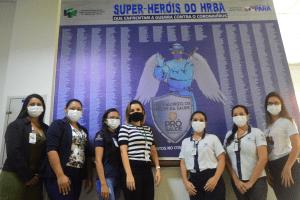 Colaboradores do setor de Gestão de Pessoas do HRBA - Foto Comunicação Pró-Saúde(1)