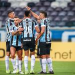 Grêmio define no primeiro tempo, atropela Aragua e segue 100% na Sul-Americana