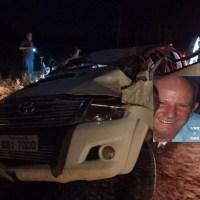 Motorista perde controle de caminhonete e morre ao colidir contra árvore em vicinal na area rural de Novo Progresso