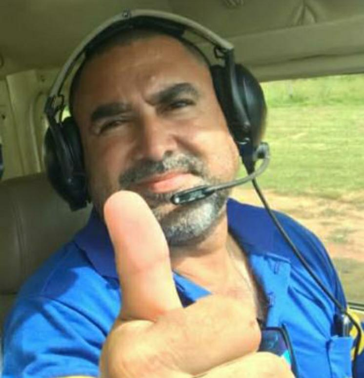 Michael Alan de Araújo Nascimento (Piloto), 44 anos. (Foto:Rede Social)