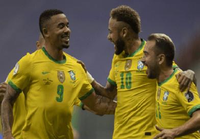 Brasil e Colômbia disputam liderança na Copa América