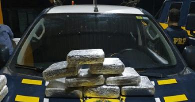 Homem que transportava mais de 10 kg de drogas em ônibus é preso em Santarém