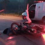 Motociclista morre após colidir com caminhão na Rodovia Transamazônica  BR-230, entre os municípios de Rurópolis e Itaituba