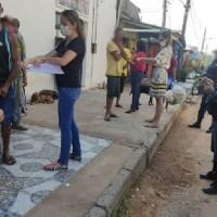 Prefeitura inicia retirada dos moradores de rua em novo Progresso