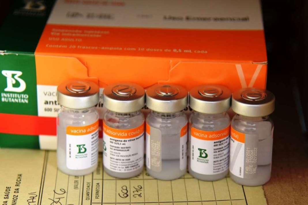 Nova remessa de vacina