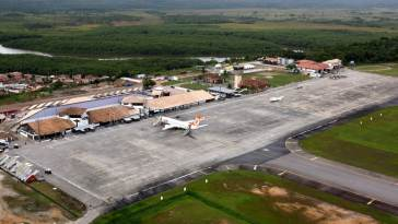 Aeroporto de Porto Seguro. Foto: Carla Ornelas/SECOM