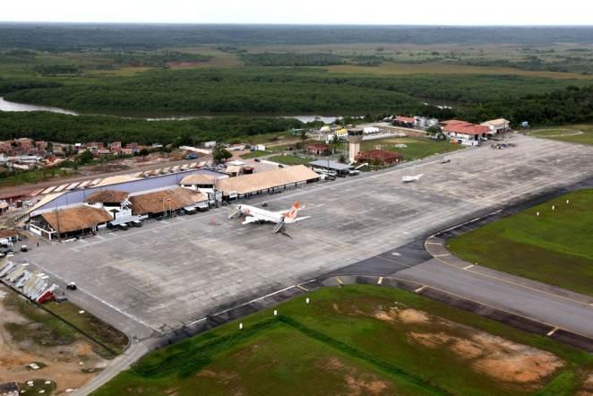 Aeroporto de Porto Seguro terá voos extras durante as férias no mês de julho. Foto: Carla Ornelas/SECOM
