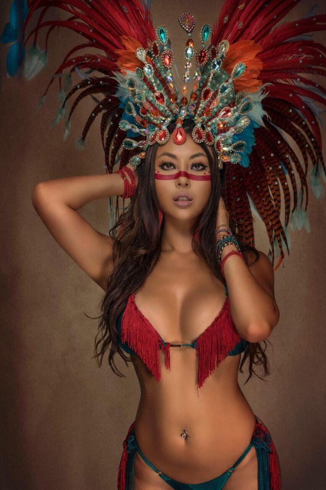 Unidos da Ponte terá uma Rainha da Escola no Carnaval 2020. Foto: Divulgação