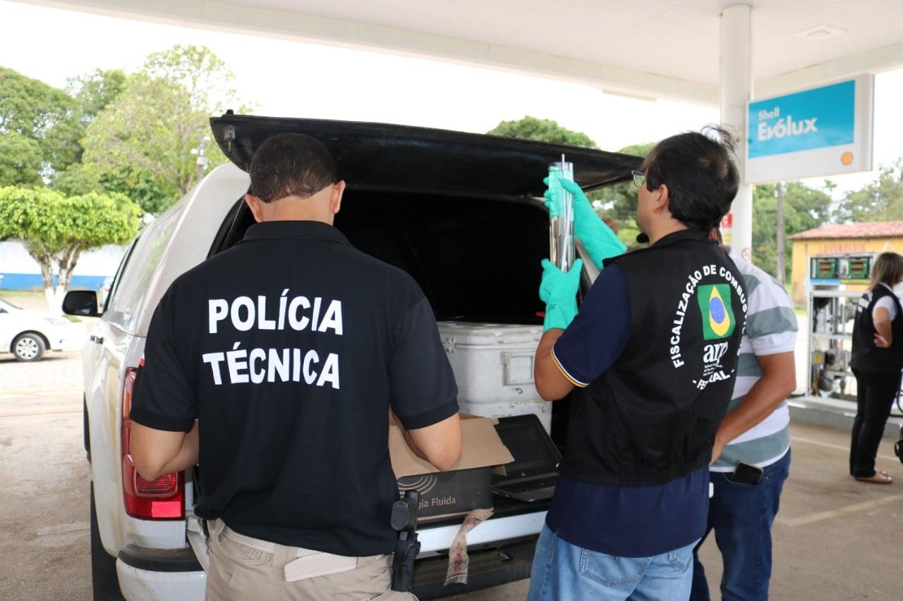Operação Posto Legal encontra irregularidades nas regiões oeste e sul