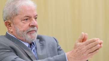 Lula concedeu entrevista exclusiva ao Brasil de Fato na quarta-feira (23). Foto da entrevista exclusiva de Lula ao El País e à Folha. Foto: Ricardo Stuckert