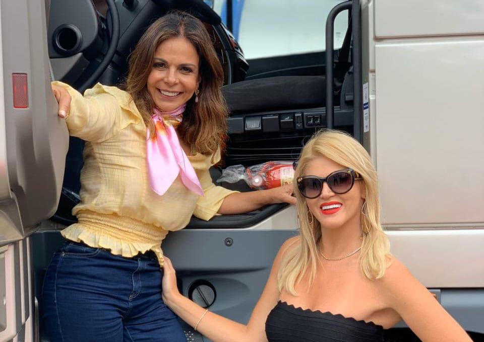 Na estrada: Val Marchiori entrevista a Rainha dos Caminhoneiros Sula Miranda