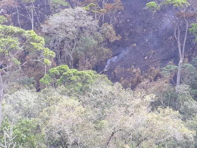 Incêndios florestais são controlados em Rio de Contas e Livramento de Nossa Senhora. Foto: Divulgação/GOVBA