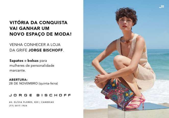 Jorge Bischoff vai inaugurar a primeira loja da grife em Vitória da Conquista. Foto: Divulgação