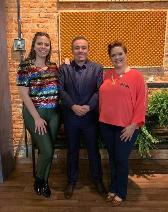 Rafa Mussolini, Gugu Liberato e Carol Rodrigues. Foto: Acervo Pessoal / MM Estratégia de Imagem - Divulgação