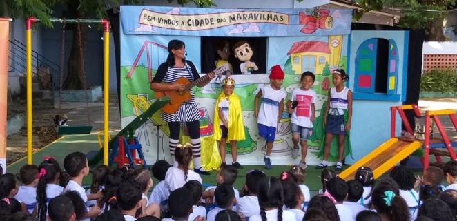 Escola Municipal Pace. Foto: Divulgação
